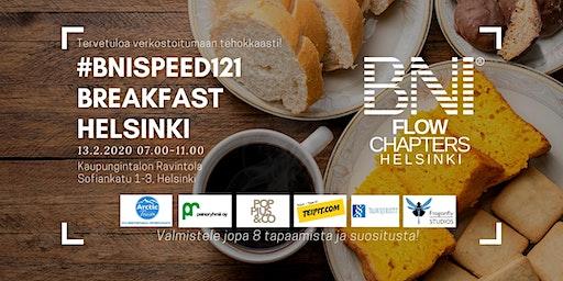 #BNISPEED121 Breakfast Helsinki