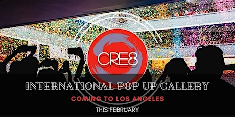 CRE8 POP UP tickets