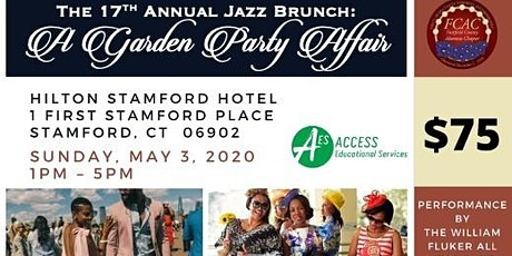 "17th Annual Jazz Brunch: ""A Garden Party Affair"" tickets"