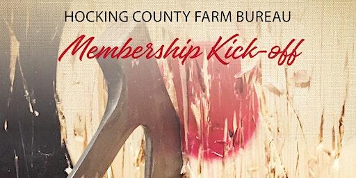 Hocking County Farm Bureau Membership Kick-off