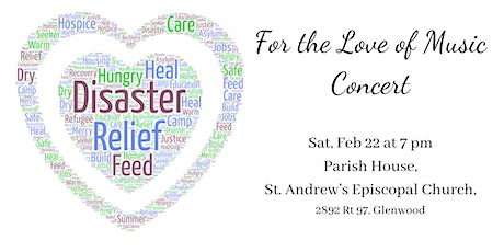 For the Love of Music Concert tickets