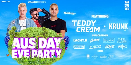 Aussie Day Eve Party @ Atlantis tickets
