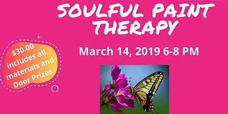 HUSH NO MORE  SOULFUL PAINT THERAPY tickets