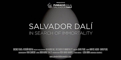 Salvador Dali: In Search Of Immortality  - Encore - 17th Feb - Melbourne