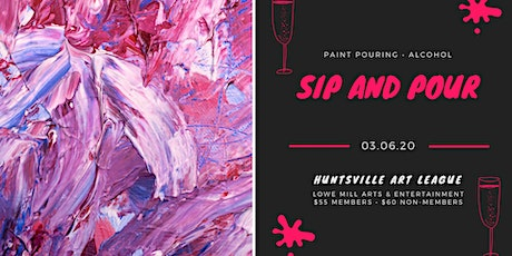 Sip and Pour tickets