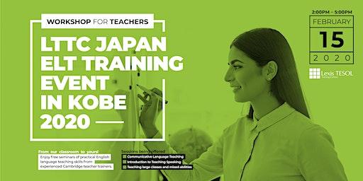 LTTC Japan ELT Training Event in Kobe, 2020