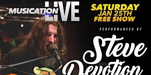 Musication Live Sat Jan 25th Steve Devotion The Dirty Sea