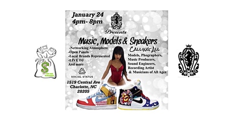 """Charlotte's New Music & Models Series """"Sneakers Edition"""" tickets"""