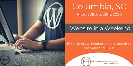 Website in a Weekend - Columbia, SC tickets
