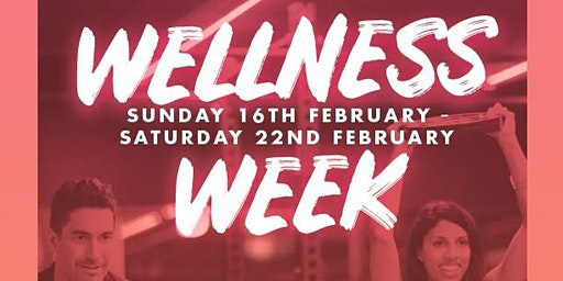 WELCOME TO WELLNESS WEEK @ WILLIAMSTOWN