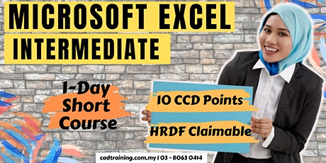 Microsoft Excel Intermediate   MS Excel   1-day Short Course   10 CCD CIDB points tickets