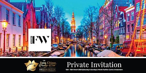 Modeling Opportunity during IFW International Fashion Week Amsterdam
