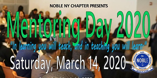 NOBLE NY 2nd Annual Mentoring Day
