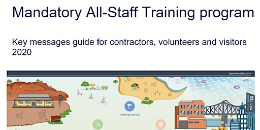 Mandatory All-Staff Training Program - Key Messages Guide for Contractors