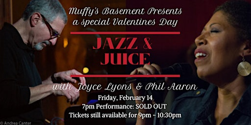 A Special Valentines Jazz and Juice with Joyce Lyons and Phil Aaron