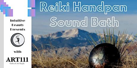 Reiki Handpan Sound Bath tickets