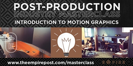 Introduction to Motion Graphics tickets
