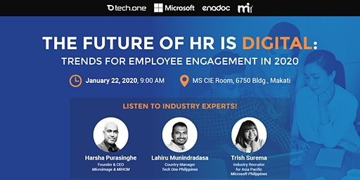The Future of HR is Digital: Trends for Employee Engagement in 2020