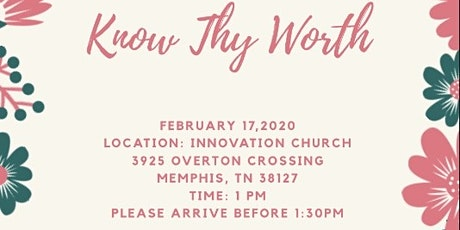 Know Thy Worth Launch Party tickets