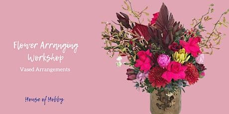 Blooms & Bubbles - Vased Flower Arrangements tickets