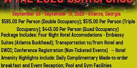 2020  Woman Thou Art Loosed - Conference Registration and Hotel Package tickets