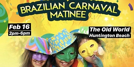 Brazilian Carnaval Day tickets