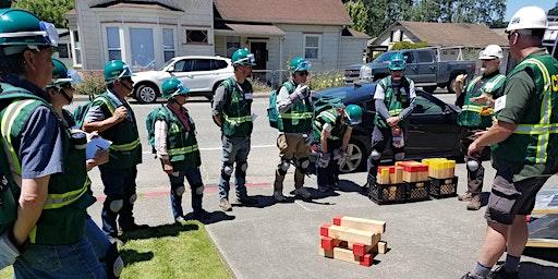 Community Emergency Response Team (CERT) Basic Course, 3/9--4/25/2020