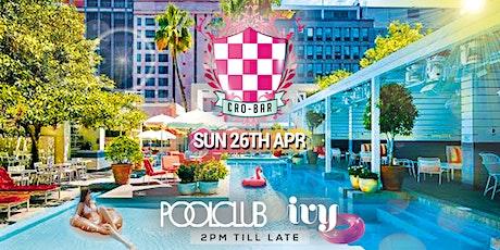 Cro-Bar @ Ivy Poolclub 2.0 tickets