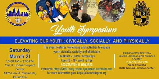 2020 Youth Symposium - Elevating Our Youth: Civically, Socially, Physically