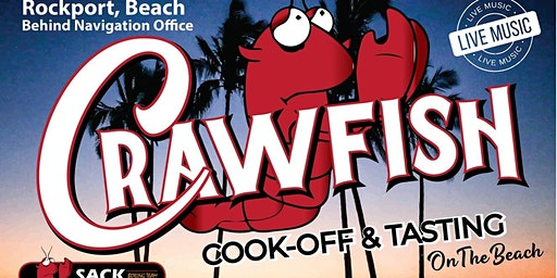Rockport Crawfish Cook-Off and Taste. Hosted by Sack Religious