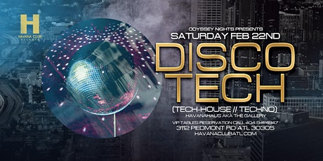 Odyssey Nights presents Disco-Tech at Havana Club tickets