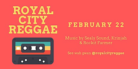 Royal City Reggae tickets
