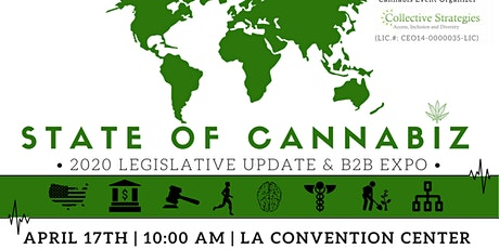 State of CannaBiz - 2020 Legislative Update & B2B Expo tickets