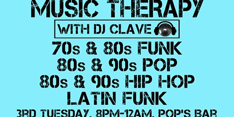 Music Therapy: 80s Pop and Latin Funk! tickets