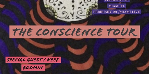 RASHAWN AUTO / WITH SPECIAL GUEST / KEEF BOOMIN /THE CONSCIENCE TOUR