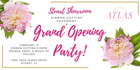 Atlas Event Rental Stuart Showroom Grand Opening Party tickets