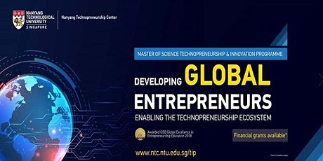Master of Science in Technopreneurship & Innovation (Information Session) tickets