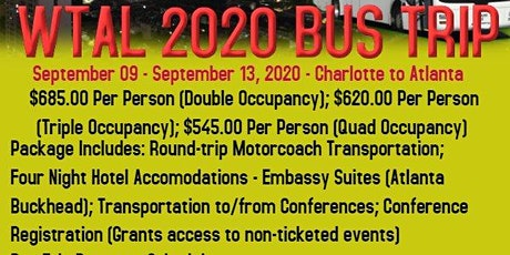 2020 - Woman Thou Art Loosed Conference - Charlotte, NC Bus Trip tickets
