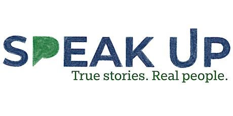 "Speak Up Storytelling: ""Grow - Stories of Hard Lessons & Forward Progress"" tickets"