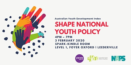 Shape National Youth Policy! A workshop on what matters to you tickets