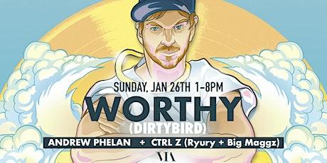 WORTHY (Dirtybird) @ Hotel Via Rooftop tickets
