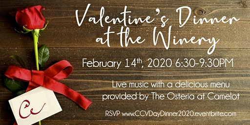 Valentine's Dinner at the Winery