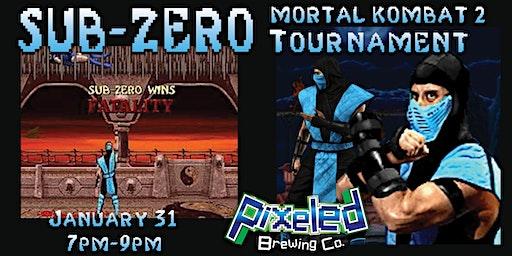 SUB-ZERO Mortal Kombat II Tournament