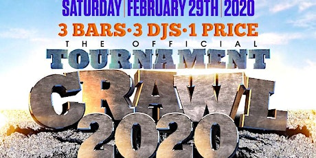 TOURNAMENT BARCRAWL 2020 - 3 BARS, 3 DJS, 1 PRICE!  #TOURNEY #CI #CIAA tickets