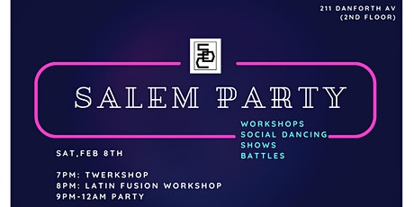 Salem Studio Party tickets