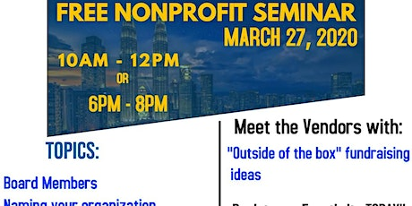 FREE Event: Starting a Nonprofit Organization tickets