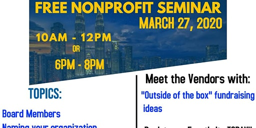 FREE Event: Starting a Nonprofit Organization