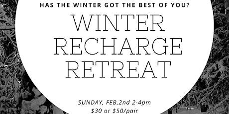 Winter Recharge Retreat with Restorative & Nidra Yoga, Tea & Chocolate! tickets