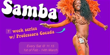 Samba Dance Workshop: 7-week Series tickets