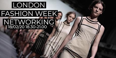 London Fashion Week Networking tickets